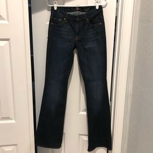 7 For All Mankind Kimmie Bootcut Jean size 27